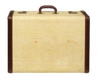 antykwarska rzemienna walizka Zdjęcia Royalty Free