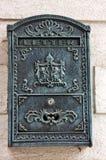 Antykwarska skrzynka pocztowa Zdjęcia Royalty Free