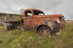 antykwarska stara ciężarówka Obrazy Royalty Free
