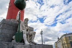 Antykwarska statua Grecki bóg Obrazy Stock