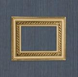 antykwarska tła błękit rama Zdjęcia Royalty Free