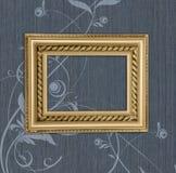 antykwarska tła błękita rama Obraz Royalty Free