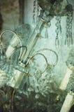 antykwarska świecznik antykwarska ilustracja Obraz Stock