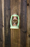 antykwarska zielona pochodnia zdjęcie stock