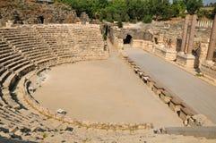 antykwarski amfiteatru widok zdjęcia royalty free