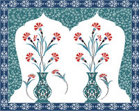 antykwarski bukieta projekta ottoman Fotografia Royalty Free