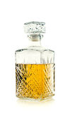 antykwarski butelki antykwarskiego whisky biel Obrazy Royalty Free