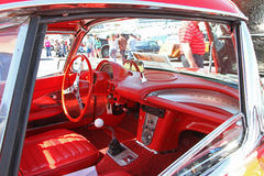 Antykwarski Chevrolet korwety samochód Obraz Royalty Free