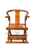 Antykwarski Chiński falcowania krzesło. fotografia royalty free