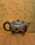 Antykwarski Chiński Teapot Obrazy Royalty Free