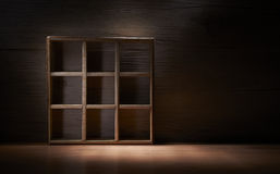 Antykwarski drewna pudełko Zdjęcia Stock