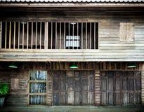 Antykwarski drewniany dom Obrazy Stock