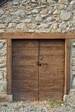 antykwarski drzwi Zdjęcie Stock