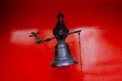 Antykwarski Drzwiowy Bell, rocznik Bell zdjęcie royalty free