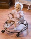 Antykwarski dziecko piechur zdjęcie royalty free