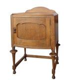 antykwarski gabinetowy drewniany Obraz Royalty Free