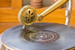 Antykwarski gramofon Obraz Stock
