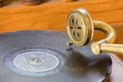 Antykwarski gramofon Zdjęcie Stock