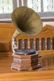 Antykwarski gramofon Obrazy Royalty Free