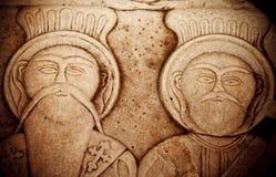 Antykwarski Grecki sztuki Barble tło Zdjęcia Stock
