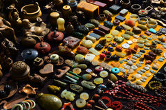 Antykwarski handlu rynek Zdjęcia Stock