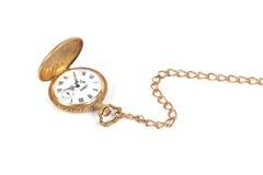 antykwarski kieszeniowy zegarek zdjęcie stock