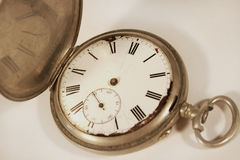 antykwarski kieszeniowy zegarek fotografia stock