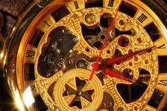 antykwarski kieszeniowy zegarek Obrazy Royalty Free