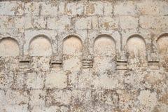 Antykwarski kościół ściany element zdjęcia royalty free