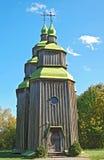 antykwarski kościelny drewniany Obraz Royalty Free