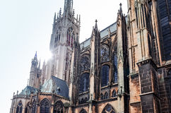 Antykwarski kościelny budynek w Paris Obraz Stock