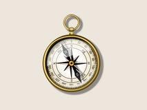 Antykwarski kompas Obrazy Stock