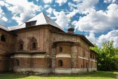 Antykwarski Krutitsy Patriarchalny przyklasztorny podwórze w Moskwa zdjęcia royalty free