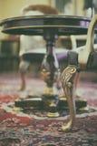 Antykwarski krzesło na dywanie Obraz Stock