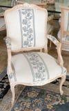 Antykwarski krzesło styl Fotografia Royalty Free