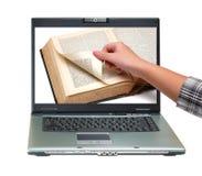 antykwarski książkowy notatnik Obrazy Stock