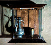 Antykwarski kubek i czajnik Zdjęcie Stock