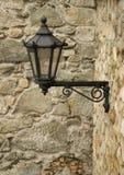 antykwarski lampion wspinał się styl ścianę Obrazy Royalty Free
