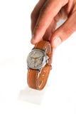 Antykwarski machinalny zegar Zdjęcie Stock