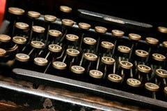 Antykwarski Maszyna do pisania Zdjęcia Royalty Free