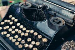 Antykwarski maszyna do pisania, rocznika maszyna do pisania maszyna Zdjęcia Stock