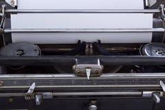 Antykwarski maszyna do pisania rocznika filtr Obraz Stock