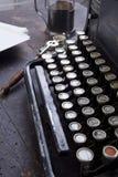 Antykwarski maszyna do pisania rocznika filtr Obrazy Royalty Free