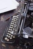 Antykwarski maszyna do pisania rocznika filtr Obrazy Stock