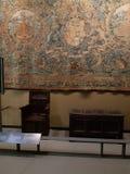 Antykwarski meble w v i muzealny Londyn zdjęcie royalty free