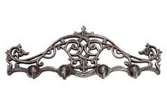 Antykwarski metalu wieszak Obrazy Royalty Free