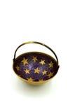 Antykwarski mosiądz gwiazdy lampas Fotografia Stock