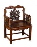 Antykwarski Mu Chiński krzesło Zdjęcie Royalty Free