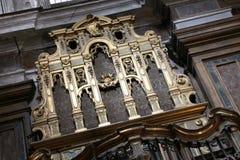 Antykwarski organ kościół Zdjęcie Royalty Free