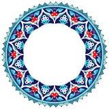 Antykwarski otoman graniczy serie piętnaście i obramia Zdjęcie Stock